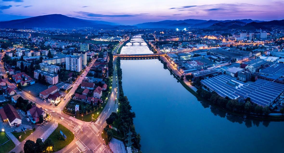 Maribor twilight